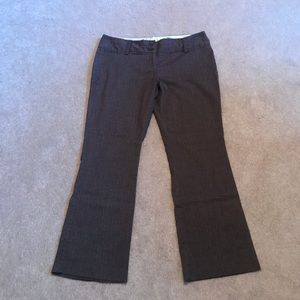 Brown Tweed Dress Pants